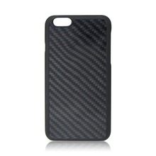 PC bottom dark blue carbon fiber protective case for iPhone 6