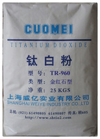 Cheap and high quality rutile Titanium Dioxide CUOMEI TR960(manufacturer)