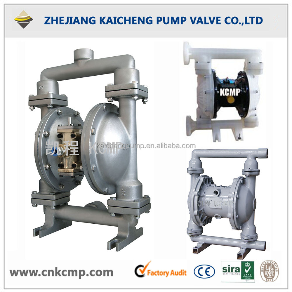 Air Operation Stainless Steel High Viscosity Double Diaphragm Pump