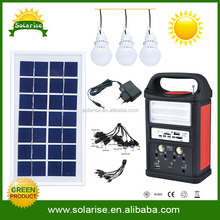 Energy saving high power diy solar power kits With USB charger