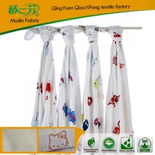 queen size made in China 100% organic cotton low cost baby blanket for staff
