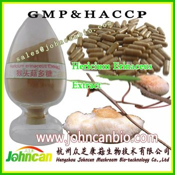Lower Serum Cholesterol Promote Blood Circulation hericium Erinaceus Extract Lion's mane