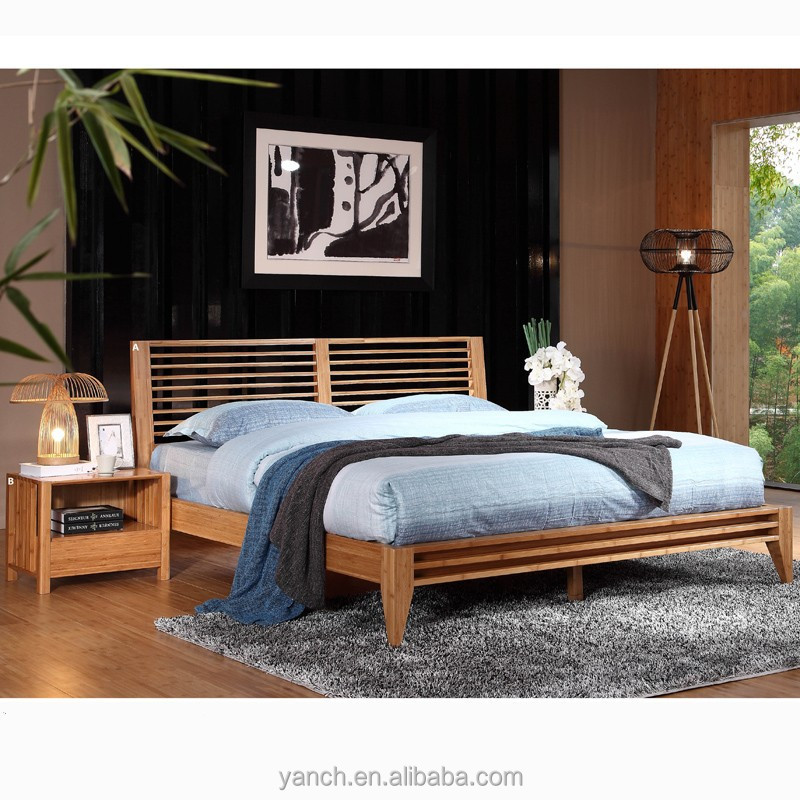 Bamboo bed set for Bedroom