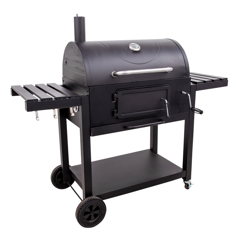 Charcoal grills barrel bbq barbecue charcoal grills with adjustable