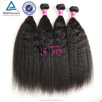 2016 New Arrival Yaki Hair Wholesale Grade 6 A Virgin Indian Hair