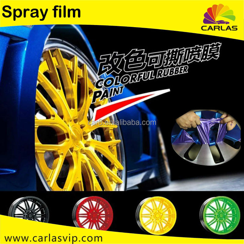 Rubber Spray Paint Decorative car motorcycle wheel