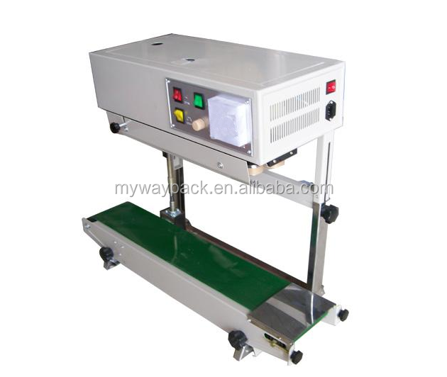 Vertical automa plastic bag sealing machine/band sealer