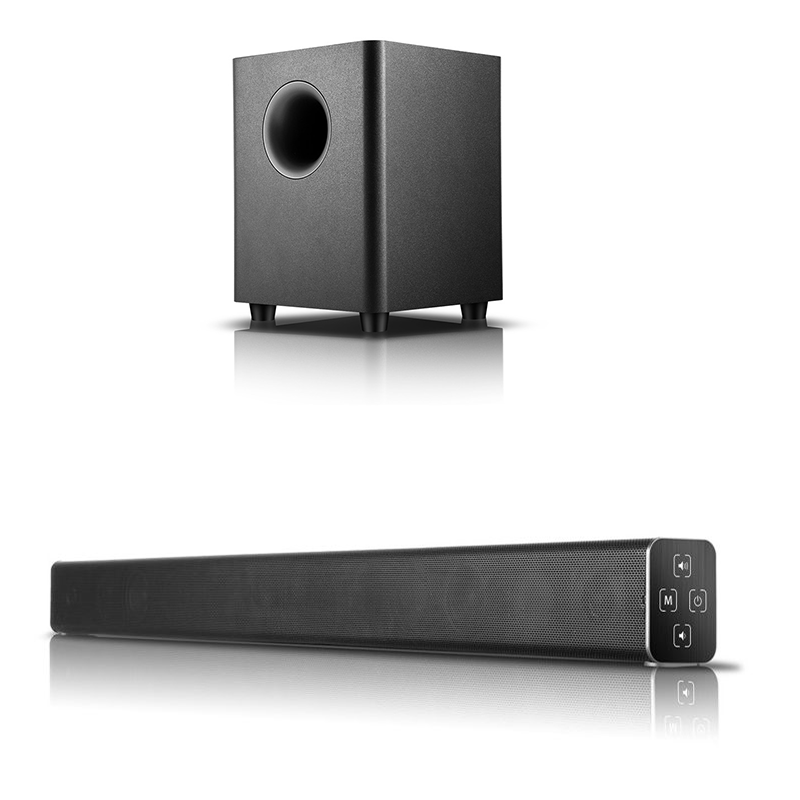 Fashion design music speaker for DVD,phone,TV home theater