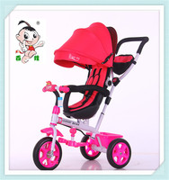 New popular style smart children tricycle hot sale kids bike forbaby 4 in 1 tricycle for kids rotary seat for 1-7 years old