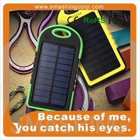 new products 2017 solar mobile phone charger,3000mAh solar power bank