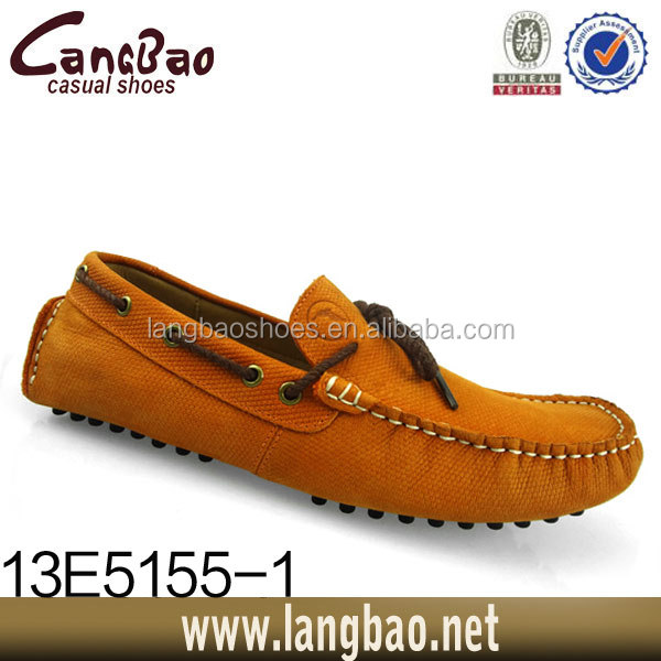 Latest new style cheap man loafer manufactures shoe