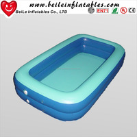 PK Eco-friendly Material portable inflatable rectangle swimming pools