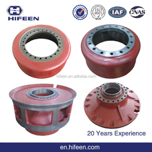 High Quality Custom 09014790 Terex Truck Spare Parts Rear Wheel Hub
