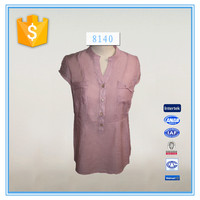 Lady Wholesale Branded Clothing Corporate Blouses