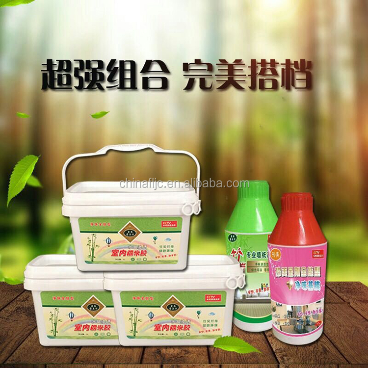 New product 2017 Top Quality waxy strong viscosity glue for wallpaper With Bottom Price glutinous rice glue