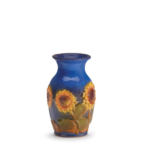 Porcelain Sunflower Floral Vase Antique Porcelain Vase For Hotel Decor