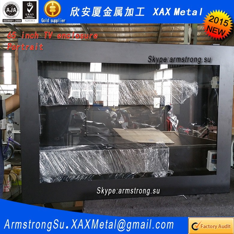 XAX140TVE indoor in door weather proof weatherproof ceiling mount electronic signage systems LCD housing