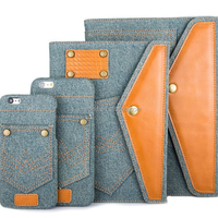 Series Fashion Jeans Cloth Leather Tablet