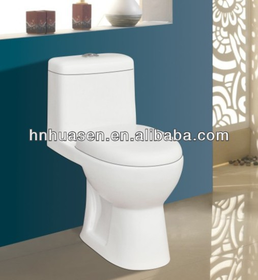 India Hot Sale Ceramic One Piece Cheap Toilet Seat