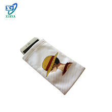 High quality factory price microfiber magnetic cell phone back pouch