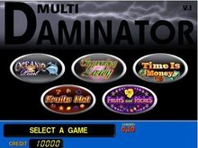 Gamintor 5 in one multi game-game board for casino game machine