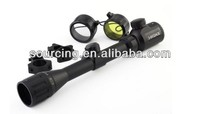 airsoft hunting equipment 3-9x32 AOE High magnification Red Green dot sighting telescope scope Optical rifle scope