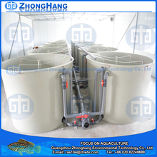 2.2M Plastic Food Grade Aquaculture fish tanks