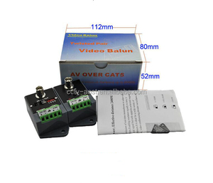 2400M long distance Active HD 800M AHD 500MTVI 500M CVI video balun