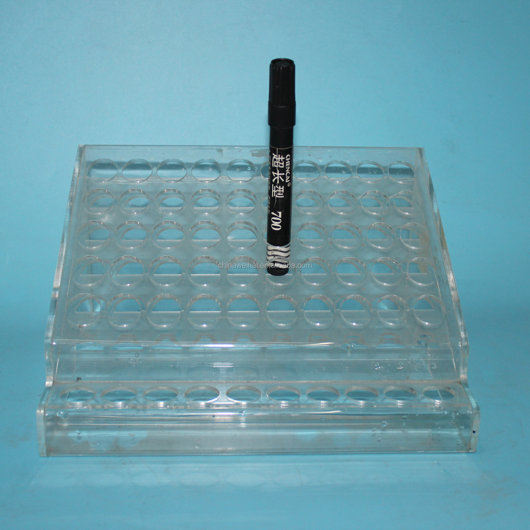 Clear Acrylic Concealer Display Stand