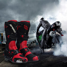 BH-116Bt Wholesale Winter Man Work Leather Motorcycle Racing Boots Riding Boots Motocross