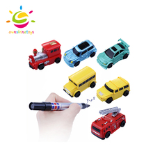 Vehicle Educational Toy Mini Tank Follow Any Drawn Line Magic Pen Inductive car Toys