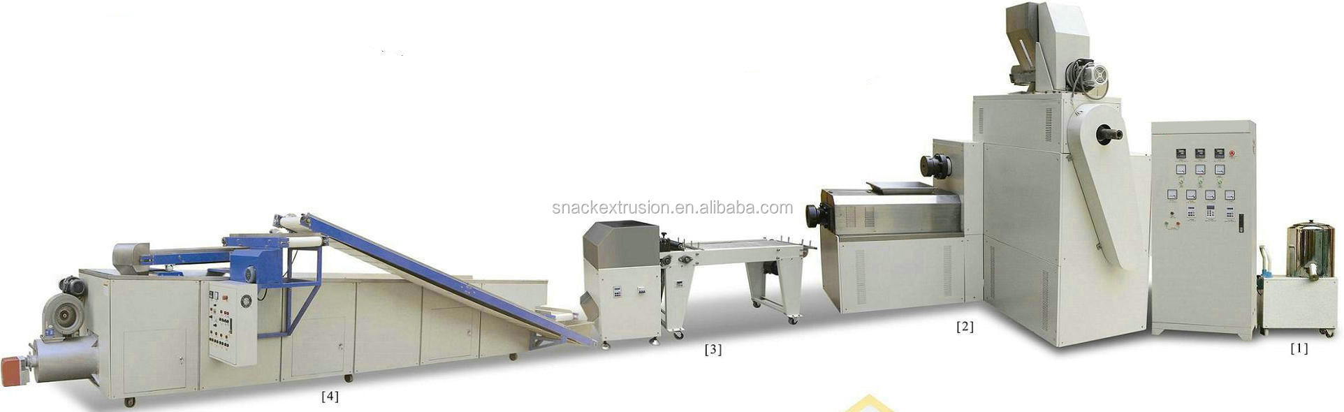 chewing/jam center pet food processing machine
