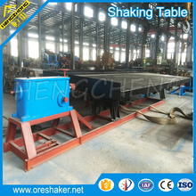 25-30 feeding density 6s shaking table mining separation machine in china