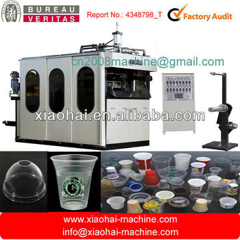 CHINA LEADING MANUFACTURER for Servo control plastic cup making machine