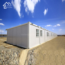 Accept Custom sandwich panel flatpack prefab container office studio 20ft 40 ft office container price