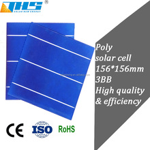 Cheap wolesale Poly crystalline 6inch solar cells for sale