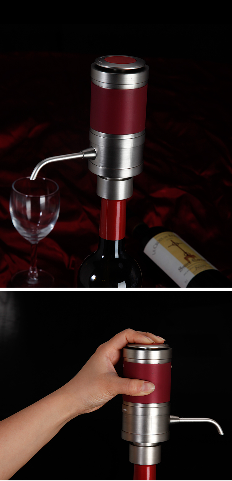 Hot New Products Electronic wine aerator Small electric wine pump