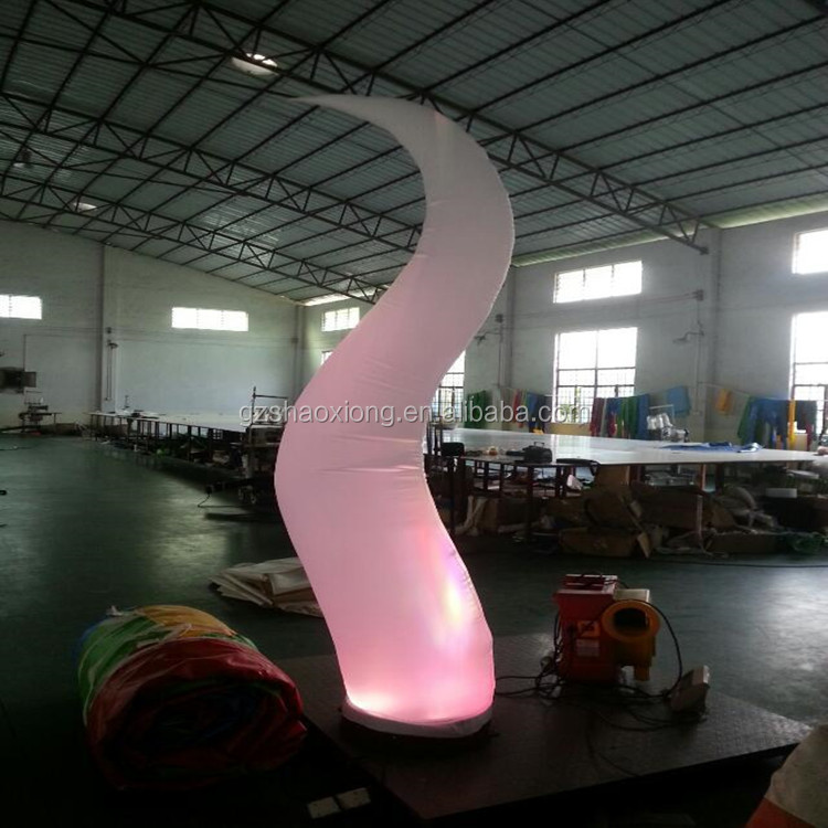 Party inflatable flames with Led light