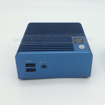 Slim PC Core i7 5500u Fan or Fanless Mini Nuc HTPC XBMC Kodi Win10 Ultra 4K HD DP HTPC