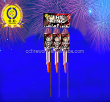 Fireworks rocket for sale chinese fireworks factory(cc1003)