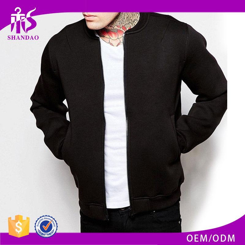 Shandao OEM professional cheap custom basketball long sleeve varsity motorcycle cordura jacket