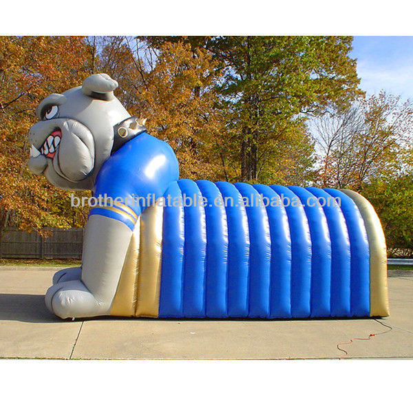 FT66 inflatable play tunnel game for kids
