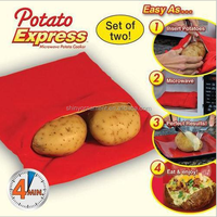potatoe express bags/Microwave oven bag of potatoes