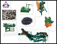 waste tire cutting machine/ tyre recycling equipment/tyre equipment