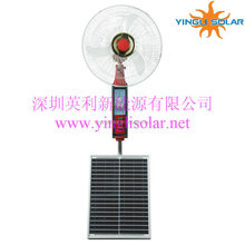 35W DC 12V table rechargeable fan use solar or battery or Adapter