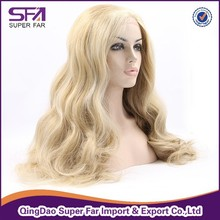 "Ear to ear 13"" lace fiber lace front wig, Piano/P color front lace wig"