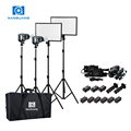 Nanguang portable led outdoor light kits Luxpad43 4kit for interview and video Lighting Kit Ra 95