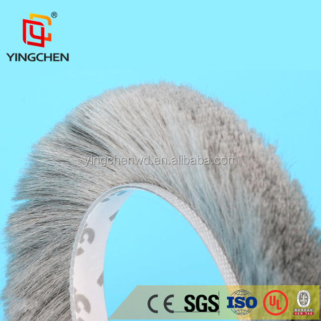 Wool Pile Brush Seal Weather Strip for Windows and Doors