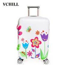 women polyester spandex luggage cover
