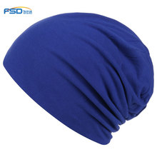 Fashion design custom jersey beanie hat sleep hat chemo cap satin lining skull cap bamboo <strong>fabric</strong>